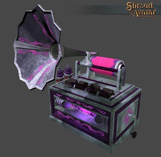 Countach Phonograph - Shroud of the Avatar