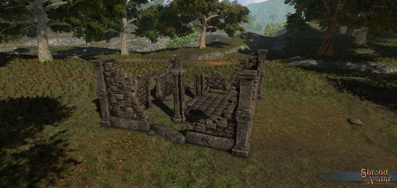 Medium Stone Ruins - Shroud of the Avatar