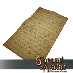Pronoia Sheet Music Set of 3 (Lose Control, Made It, Star in my Sky)  - Shroud of the Avatar
