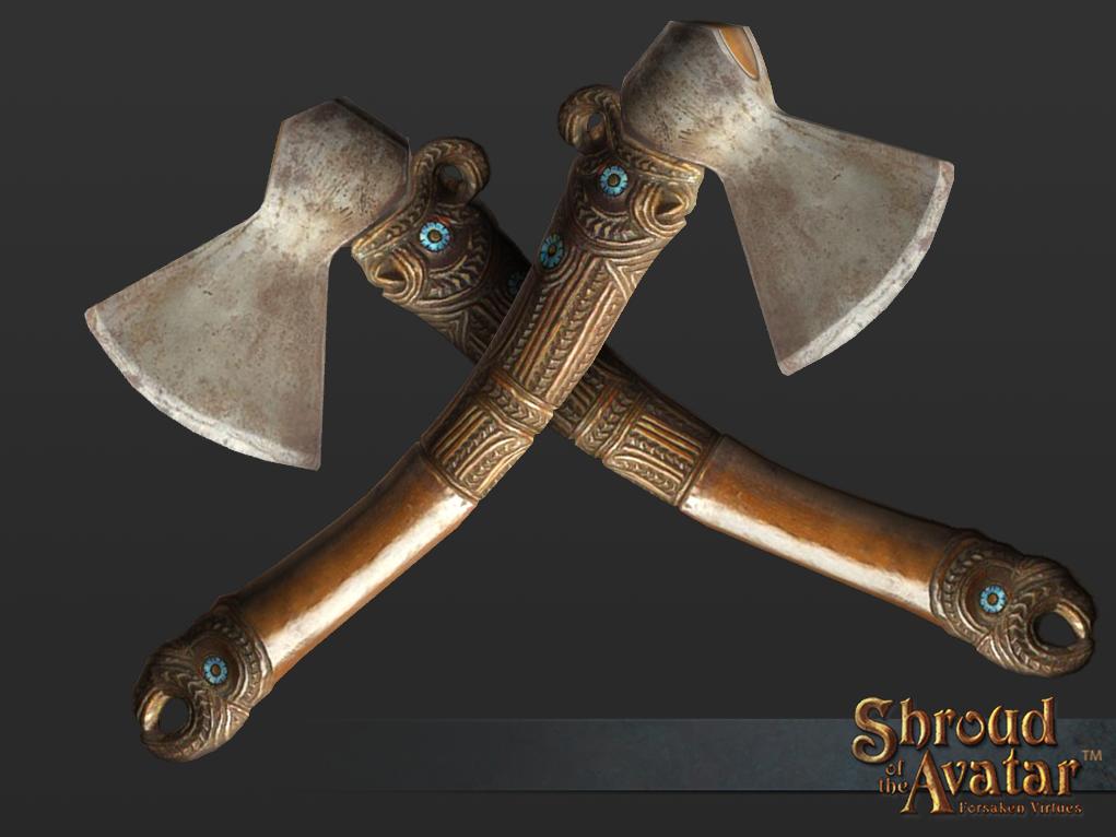 Island Axe - Shroud of the Avatar