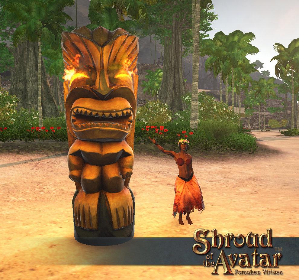Island Flower Crown - Shroud of the Avatar