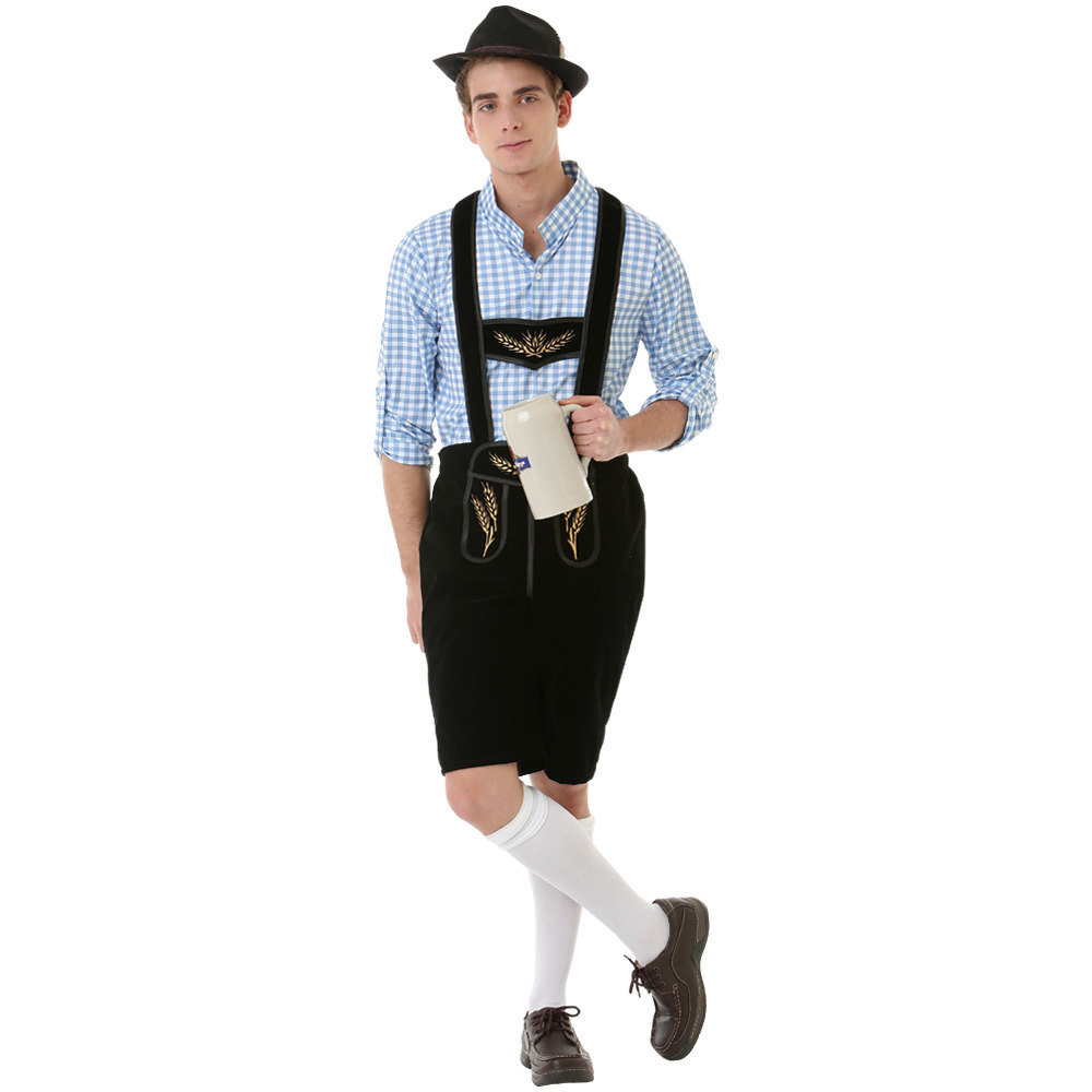 Boisterous Bavarian Adult Costume, L