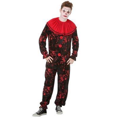 Crimson Clown Costume, L