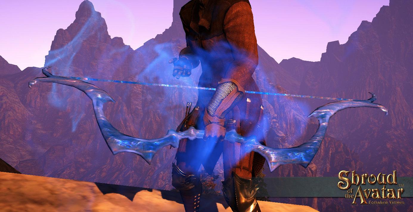 Aether Longbow - Shroud of the Avatar