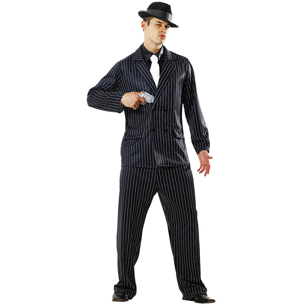 Gin Mill Gangster Costume, L