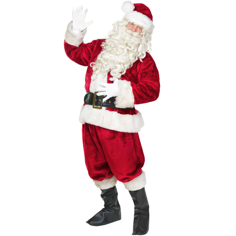 Jolly Ol' St. Nick Adult Costume, XL