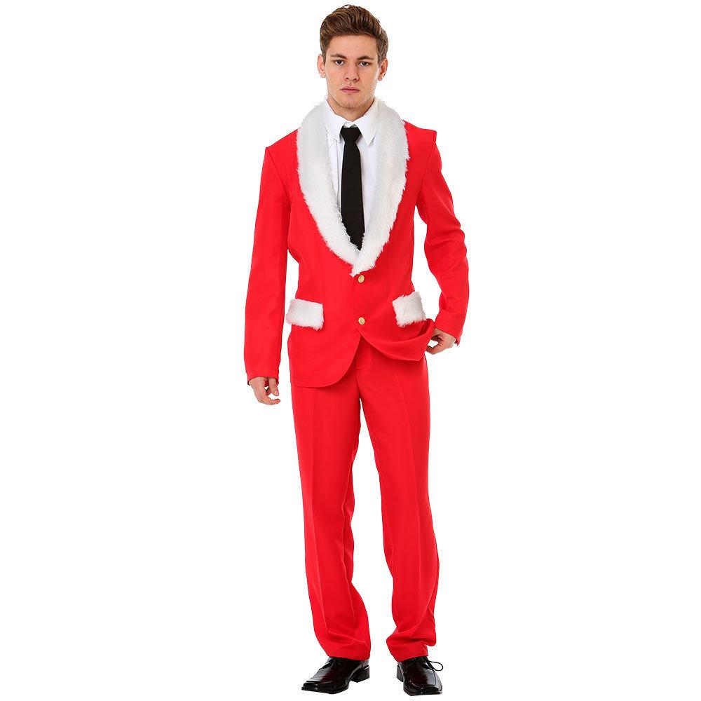 Magnificent Mr. Claus Christmas Suit, L