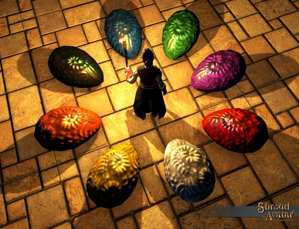 Yellow Dragon Egg - Shroud of the Avatar