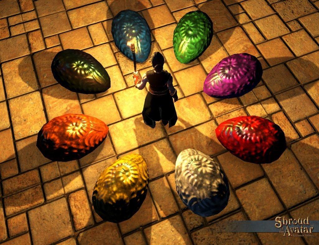 Dragon Egg Reward (Unchosen in Bag) - Shroud of the Avatar