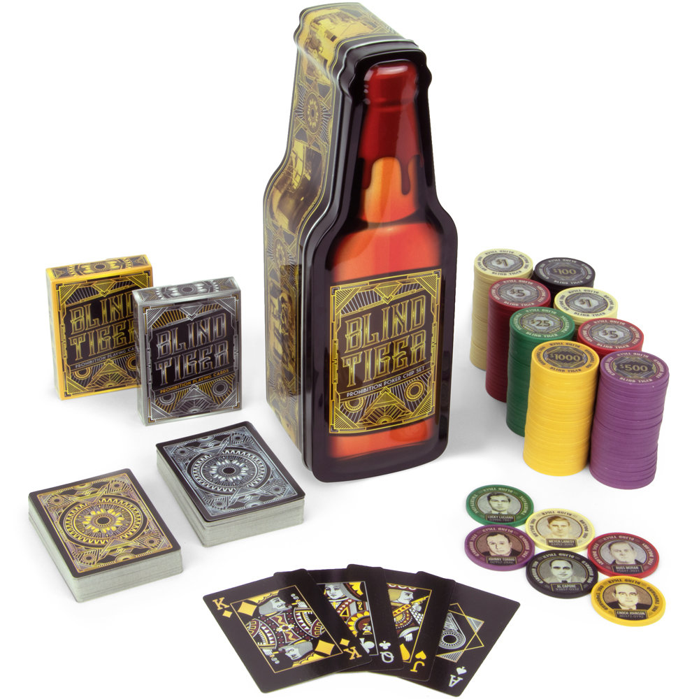 Blind Tiger Poker Chip Set
