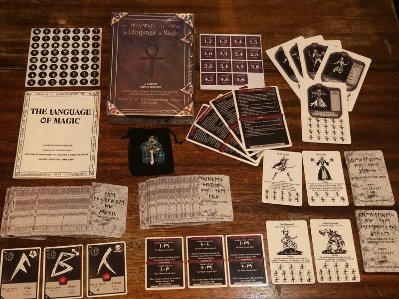 The Language of Magic Card Game - Funded on Kickstarter!