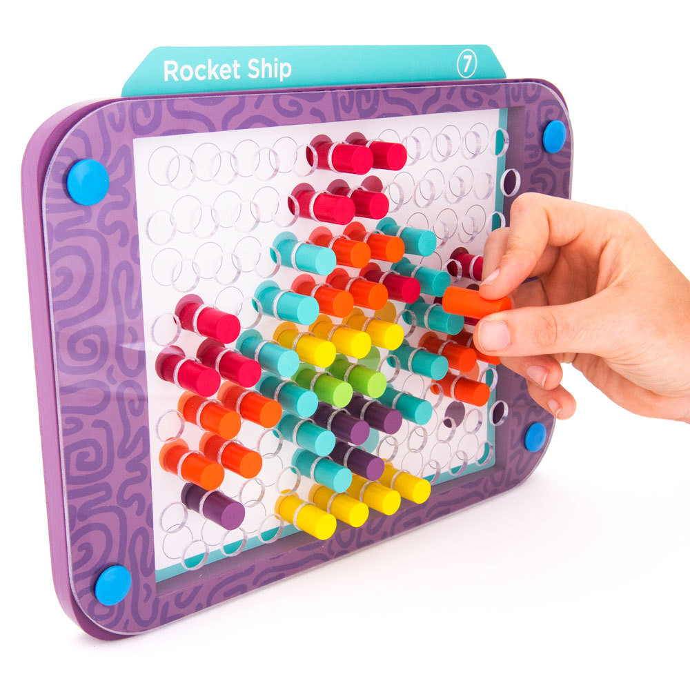 Colorful Creations Pattern Pegs