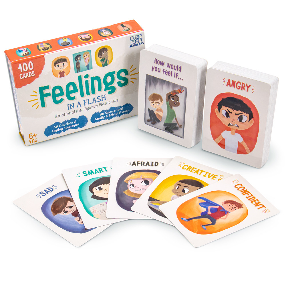 Feelings in a Flash Emotions Flashcards