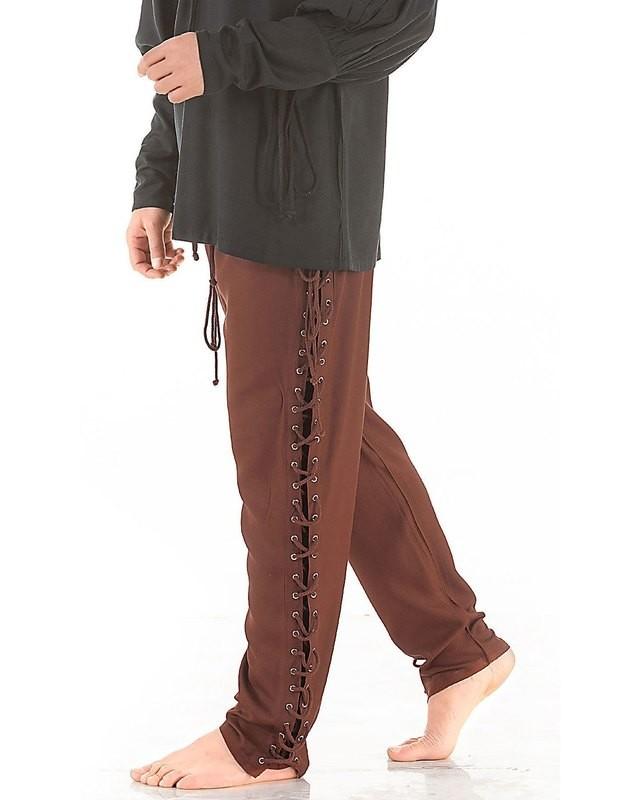 Lace-Up Pants