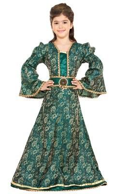 Girls Brocade Dress