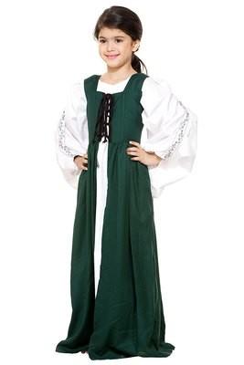 Girls Medieval Market Dress