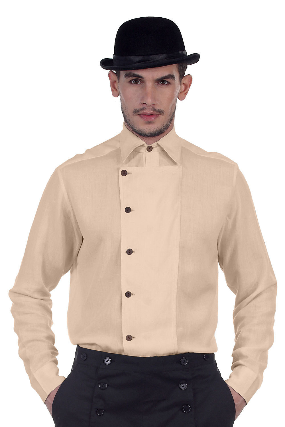 Ulysses Side-Button Shirt