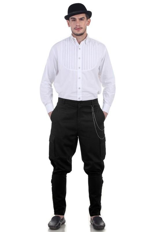 Airship Pants Trousers -Black