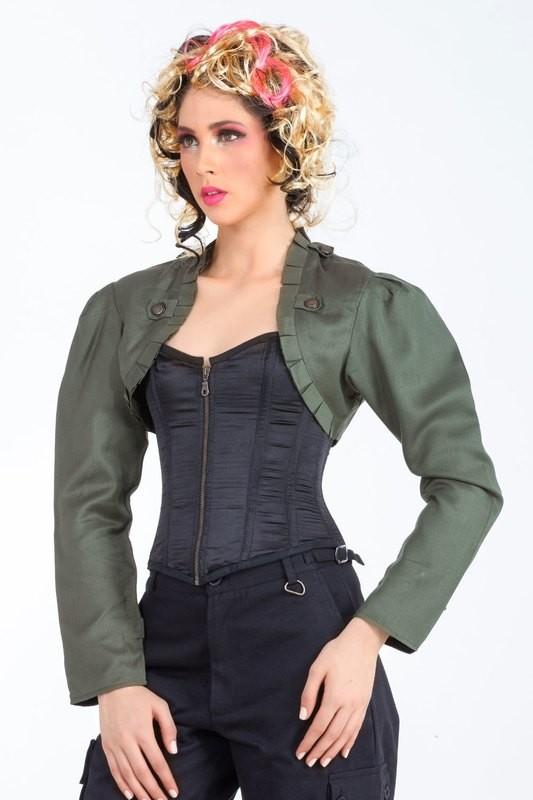 Steampunk Military Bolero Jacket