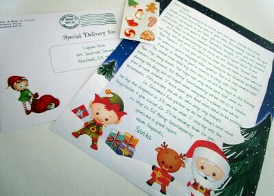 Magic Elf Personalized Letter