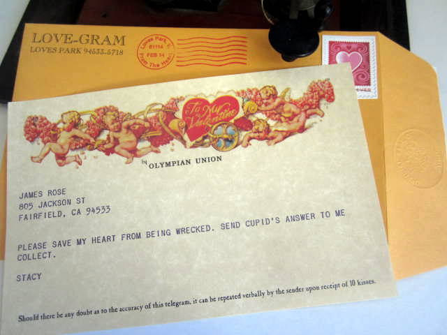 Valentine's Day Telegram