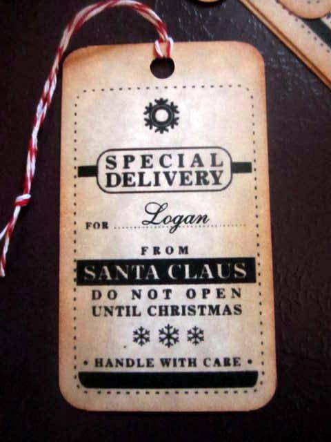 Santa Claus Gift Tags (10)