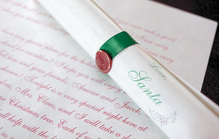 *Deluxe Scroll from Santa Claus