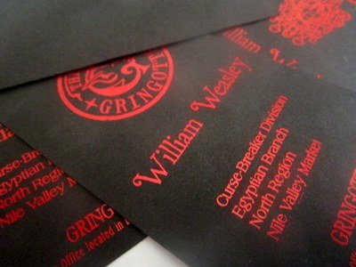 Wizarding Bank Business Cards (10)