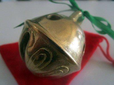 Christmas Polar Express Brass Sleigh Bell
