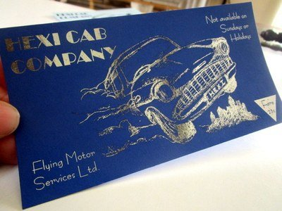 Wizarding Flying Taxi Ticket