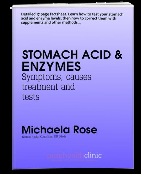 Stomach Acid & Enzymes Factsheet