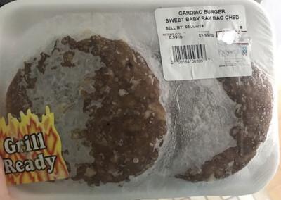 Cardiac burger Cherder