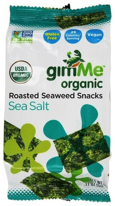 GimMe Organic - Roasted Seaweed Snack