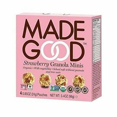 Made Good - Strawberry Granola Minis
