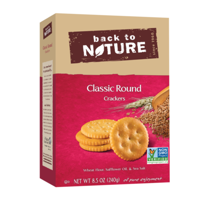 Back to Nature - Classic Round Crackers