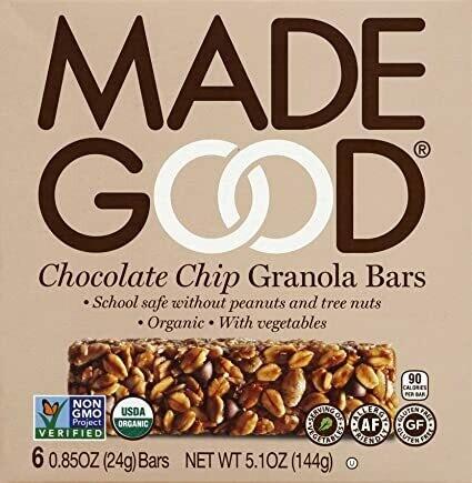 Made Good - Chocolate Chip Granola Bars