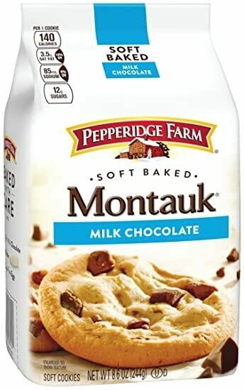 Pepperidge Farm- Soft Baked-Montauk-Milk Chocolate Cookies