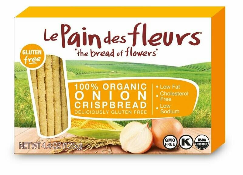 Le Pain Des Fleurs - Organic Onion Crispbread