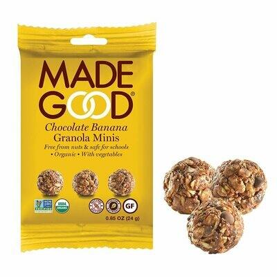 Made Good - Banana Chocolate Granola Minis