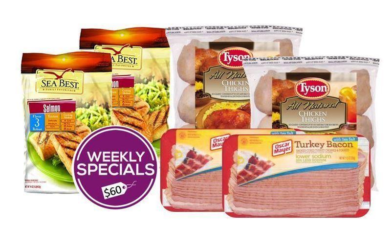 Chicken, Salmon & Turkey Bacon Pack