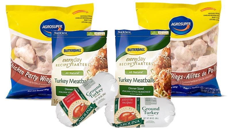 Meatballs, Wings & Ground Turkey Pack