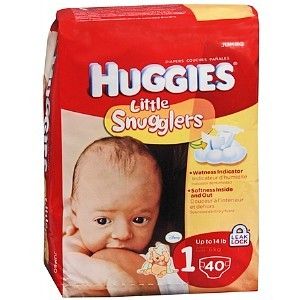 Huggies Little Snugglers Diapers,  (click image for size options)