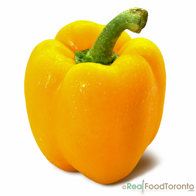 Bell Peppers Yellow (per lb)