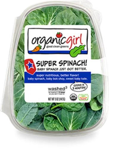 Organic Girl, Super Spinach
