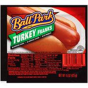 Ball Park Turkey Franks, Hotdogs 15 oz