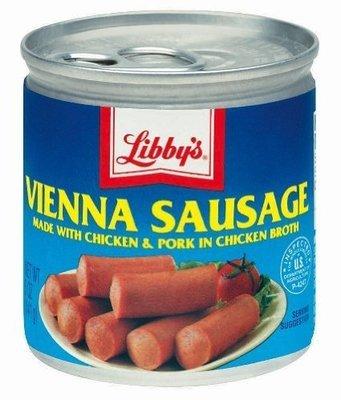 Libby's: Vienna Sausage w/Chicken & Pork In Chicken Broth, 5 Oz