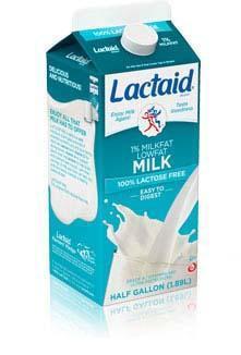 LACTAID® Lowfat 1% Milk