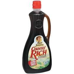Aunt Jemima Syrup, Country Rich, 24 Oz