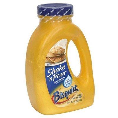 Bisquick Shake 'N Pour Buttermilk Pancake Mix, 5.1 oz