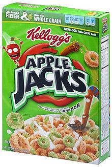 Apple Jacks Cereal, 12.2-Ounce Box